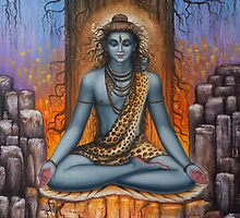 Shiva meditation by Vrindavan Das