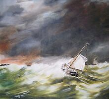 Rough Seas by andy davis