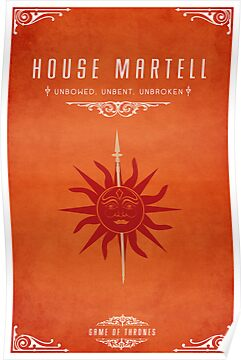 House Martell by liquidsouldes