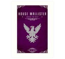 House Mallister Art Print