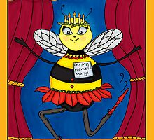 Bee Mary  by JanDeA