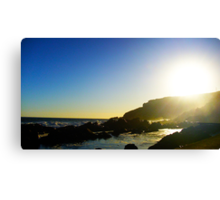Sunset over Mossel Bay Canvas Print