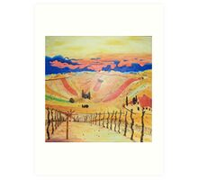 Southern Styria, Painting 1 Art Print