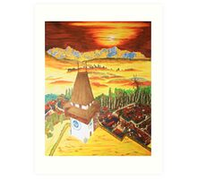 Southern Styria, Painting 2 Art Print