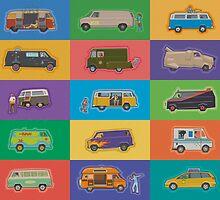 Famous Vans by mitchfrey