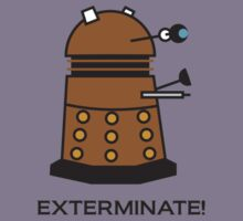 Li'l Dalek by NevermoreShirts
