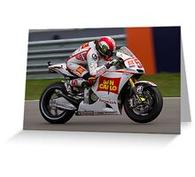 Marco Simoncelli in Assen Greeting Card