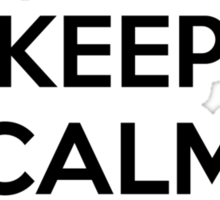 Keep Calm and Occupy Sticker