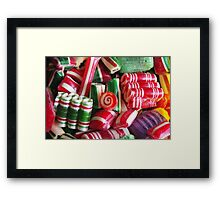 Grandma's Christmas Candy Framed Print