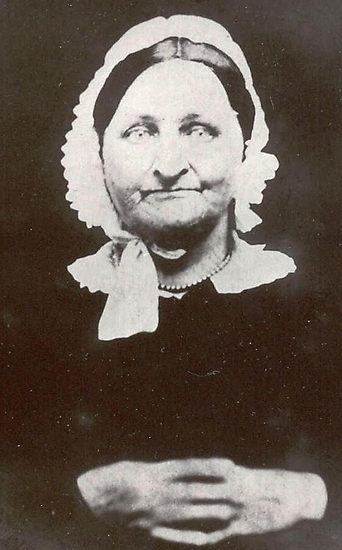 Smile, Mrs. Simmons ~ From A Daguerreotype by artwhiz47