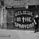Believe in the Spray can  by Sherion