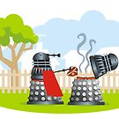 Lazy summer afternoon on Skaro by Matt Mawson