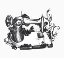 Sewing Machine  by Amanda Hallock