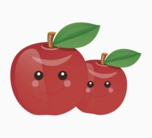 Kawaii Apples by sweettoothliz
