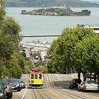 Tram Car - San Francisco by Rob Chiarolli