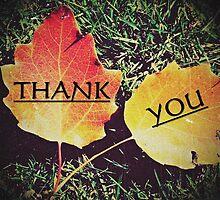 Card - Thank You 02 (Daylesford Botanical) by Justin Ashleigh Jones