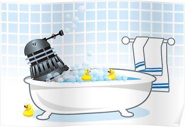 relaxing after a hard day's exterminating by Matt Mawson