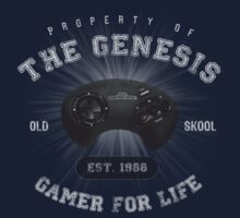 Property of the Genesis - Athletic Style Shirt - Light Kids Clothes