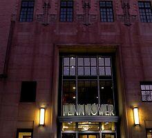 Fenn Tower #1, (Main entrance), Cleveland State University by WonderlandGlass