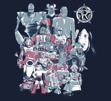 Robo-Rama: The Great Robot Reunion by Ramsey Sibaja