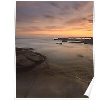 """The Gentle Tide"" ∞ Caloundra, QLD - Australia Poster"