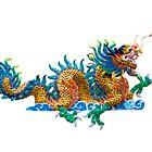 Chinese dragon by hinnamsaisuy