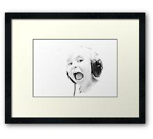 DJ Gracie Spacie Framed Print