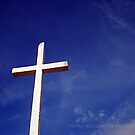 Cross to the sky by Fiona Mouzakitis