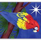 Holiday Parrot by Tamara Clark