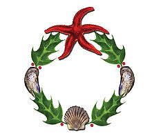 Marine Wreath by Tamara Clark