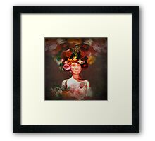 truth and reality squared Framed Print