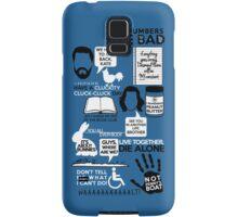 Lost Quotes Samsung Galaxy Case/Skin