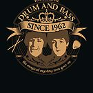 Drum &#x27;n&#x27; Bass Originals poster by Naf4d
