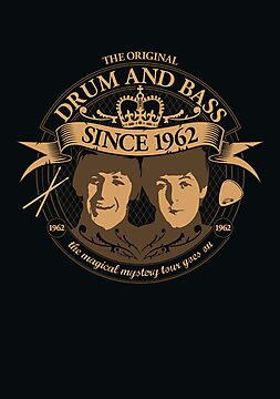 Drum 'n' Bass Originals poster by Naf4d