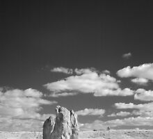 Infrared Photo of Avebury, Somerset by paulaross
