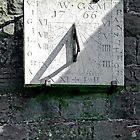 Vertical Sundial on Fenny Bentley Church by Rod Johnson