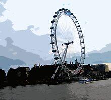 London Eye by cycreation