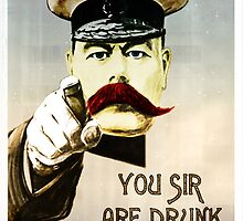 You sir, are drunk. by SixPixeldesign