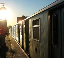 Taking the train, New York City  by Alberto  DeJesus
