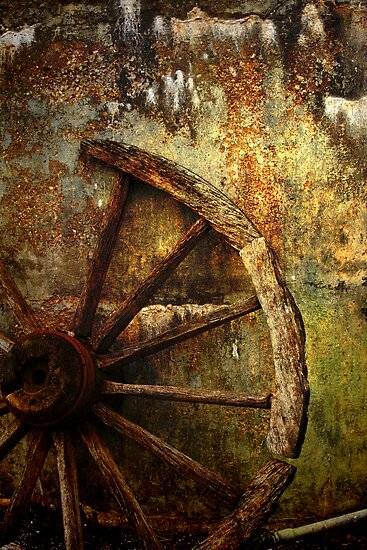 And the Wheel Went Round..... by Wendi Donaldson