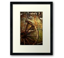 And the Wheel Went Round..... Framed Print