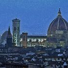 Florence by Night by Haggiswonderdog