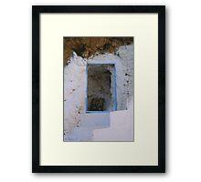 Crete - Stairways to heaven Framed Print