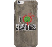 I (Headshot) Zombies iPhone Case/Skin