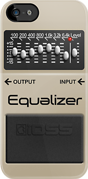 Boss Equalizer Pedal by Alisdair Binning