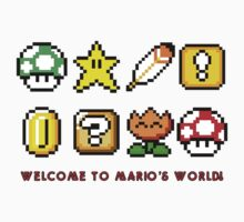 Welcome to Mario's World by Adam Angold