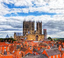 Lincoln Cathedral Landscape by Paul Thompson Photography