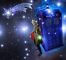 Doctor Who Christmas Card by ixrid