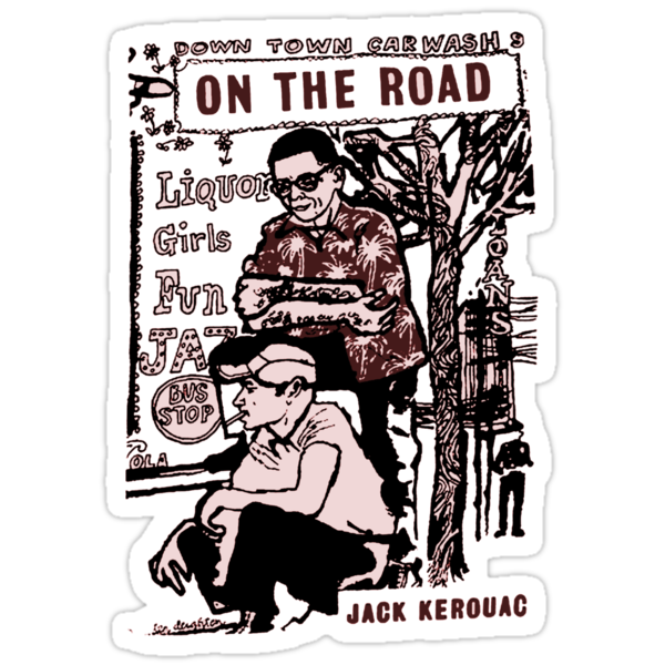 On The Road Book Illustration by Earth-Gnome