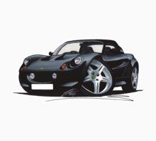 Lotus Elise S1 Black by Richard Yeomans